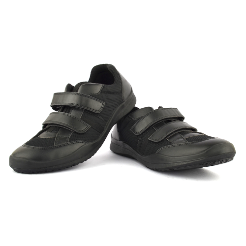 Unisex Black Velcro Shoes Ace100